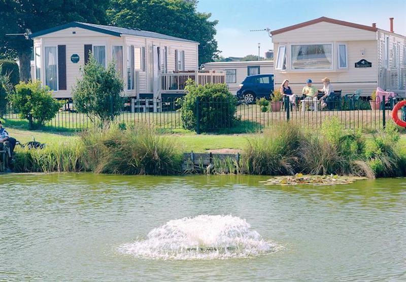 The park setting at Sunnydale in Saltfleet, Lincolnshire