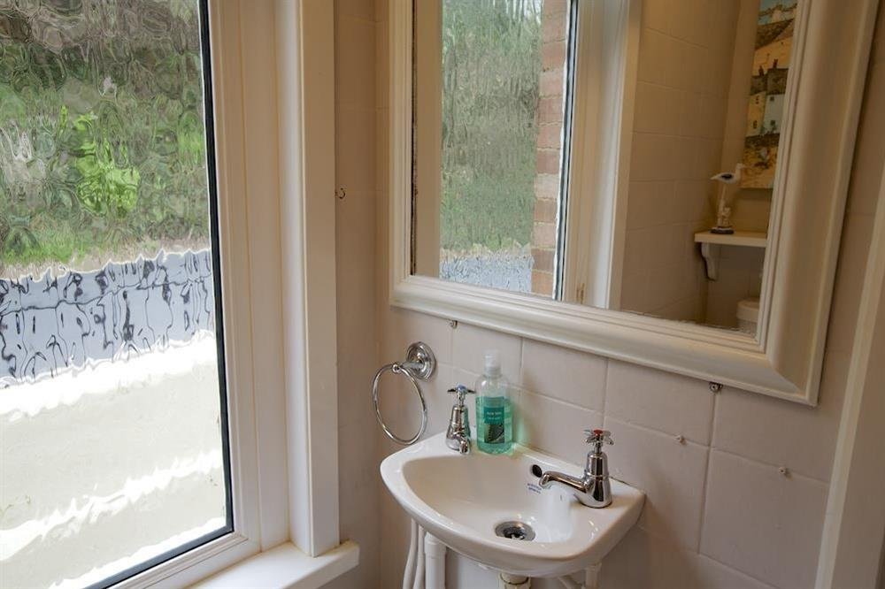 First floor cloakroom at Sunnyside in , Dartmouth