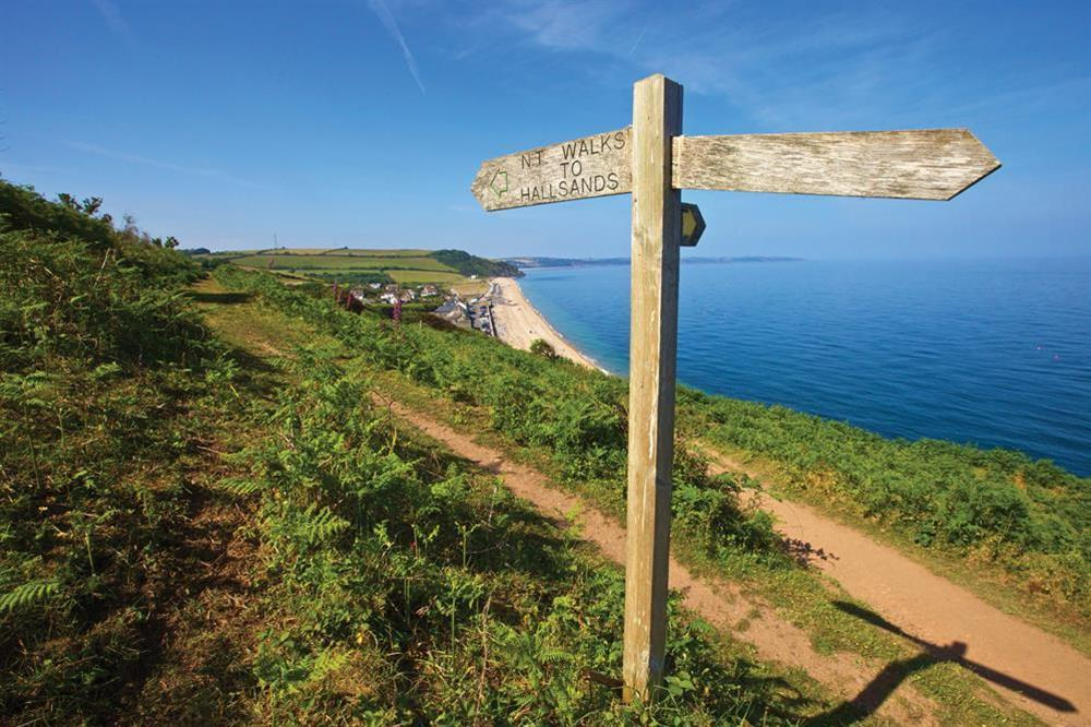 Travel some of the miles of South West Coast Path the area has to offer at Sunnyside in , Dartmouth
