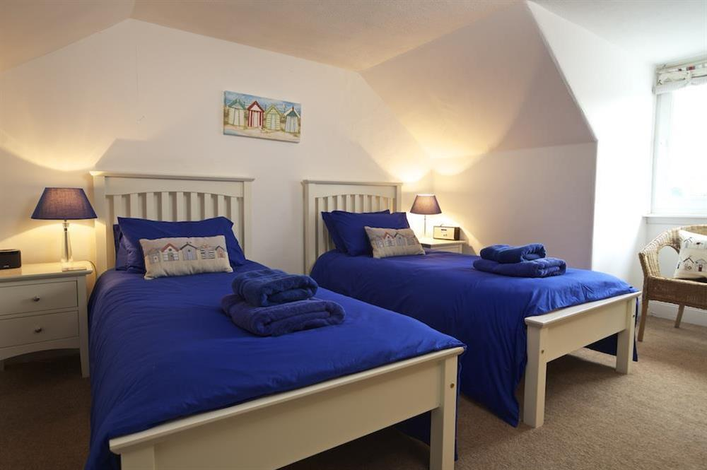 Twin room at attick level at Sunnyside in , Dartmouth