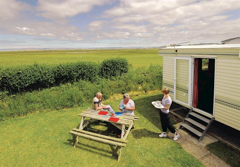 The park setting (photo number 4) at Surf Bay Holiday Park in Devon, South West of England