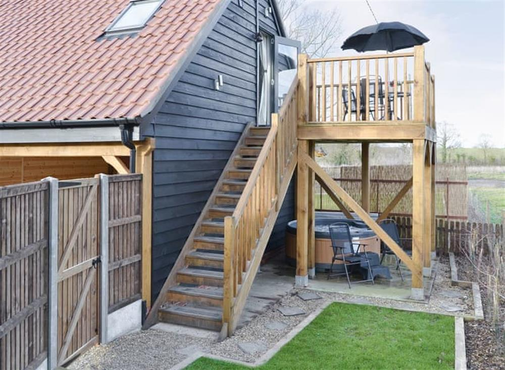 Characterful holiday home at The Cart Shed,