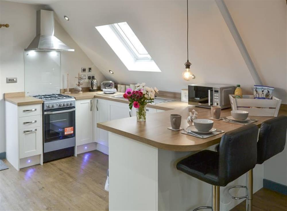 Fully appointed fitted kitchen at The Cart Shed,