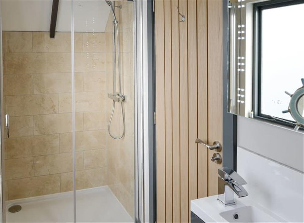 Shower room at The Cart Shed,
