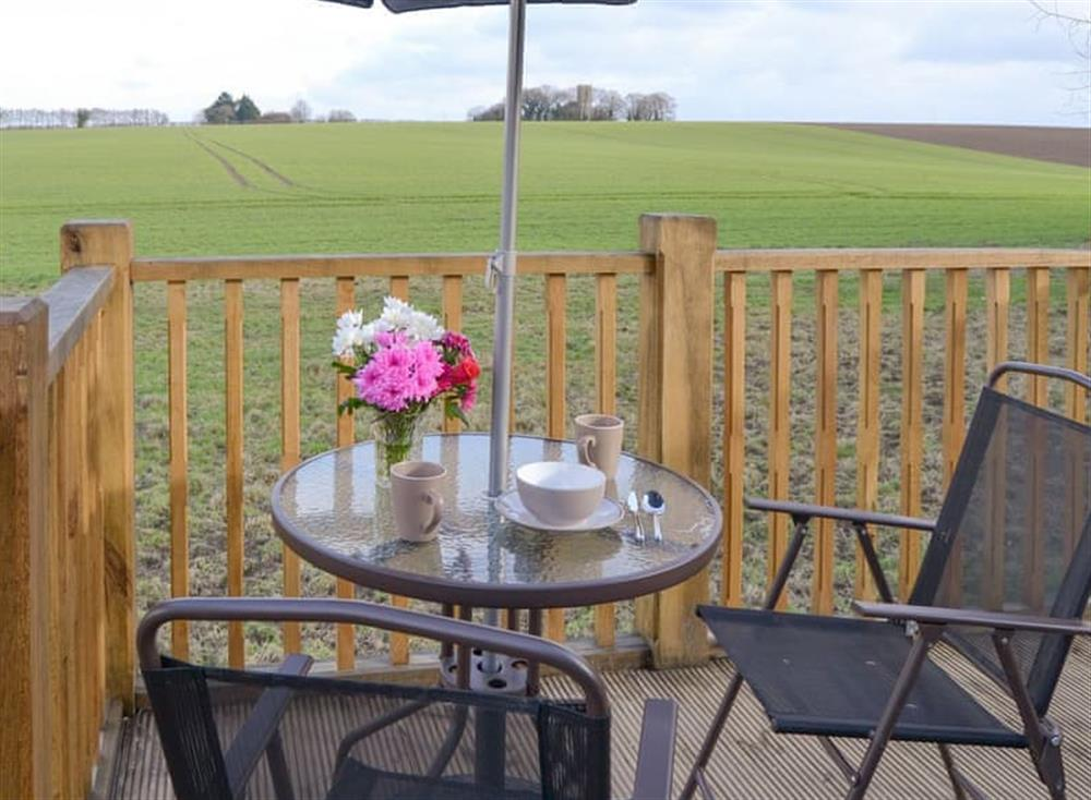 Terrace with outdoor furniture at The Cart Shed,
