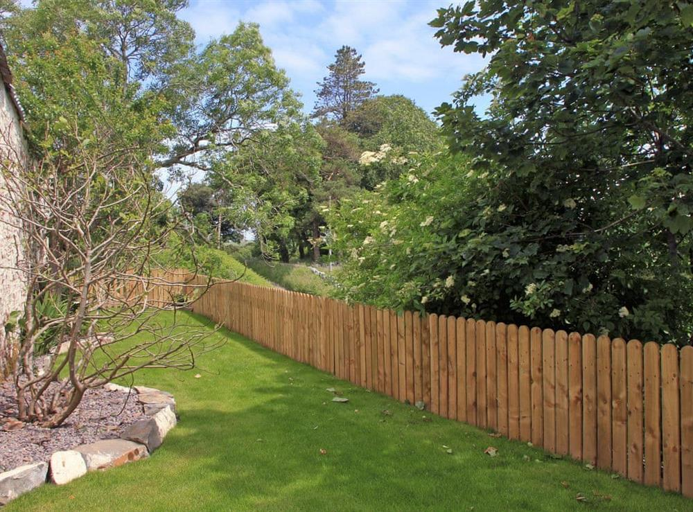 Private enclosed garden at Swallows in Borgue, near Kirkcudbright, Kirkcudbrightshire
