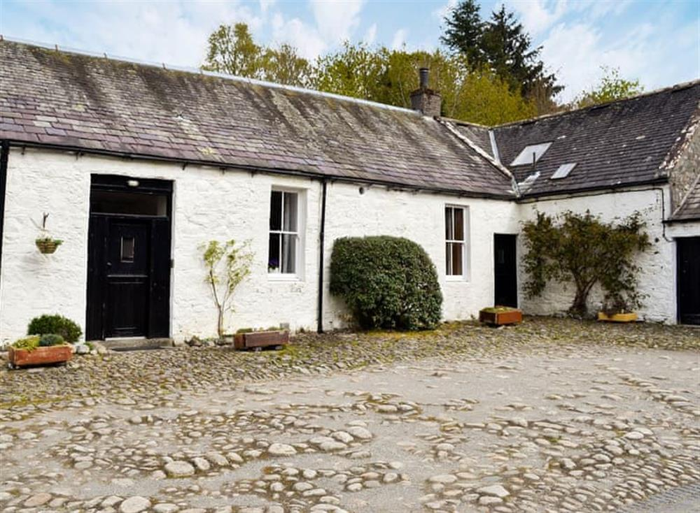 Charming barn conversion at Tackroom Cottage in Palnure, near Newton Stewart, Wigtownshire