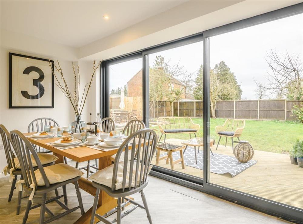 Dining Area at Tamerisk in Tunstead, near Norwich, Norfolk