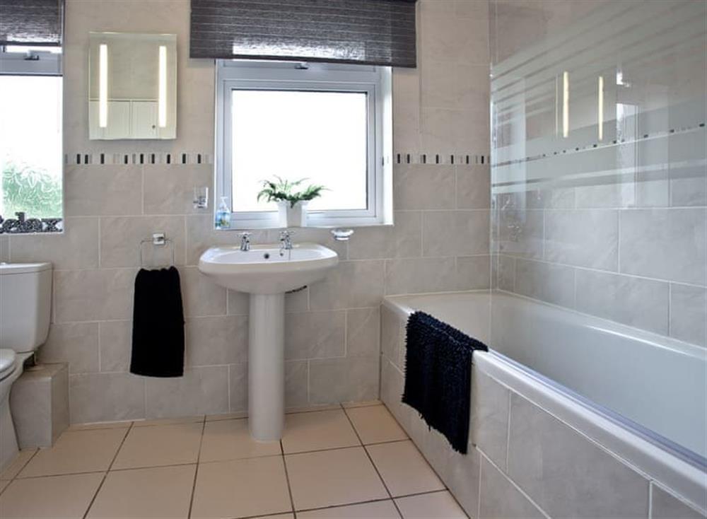 Bathroom at Tanna Nivas in Paignton, South Devon