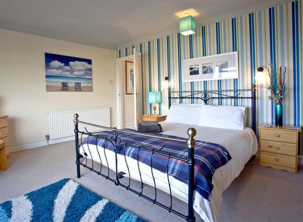 Double bedroom at Tanna Nivas in Paignton, South Devon