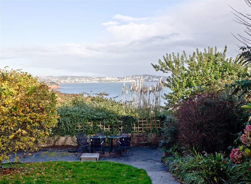 Garden at Tanna Nivas in Paignton, South Devon