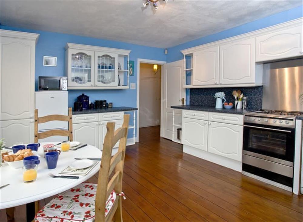 Kitchen/diner at Tanna Nivas in Paignton, South Devon