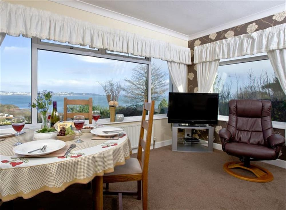 Living room/dining room (photo 2) at Tanna Nivas in Paignton, South Devon