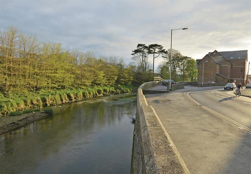 Barnstaple River at Tarka Holiday Park in Ashford, Barnstaple