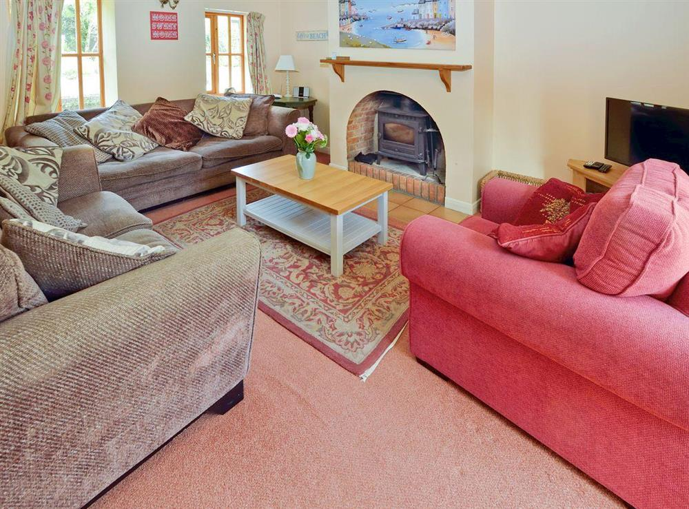 Living room/dining room at Tarragon Cottage in Kingswear, Nr Dartmouth, South Devon., Great Britain