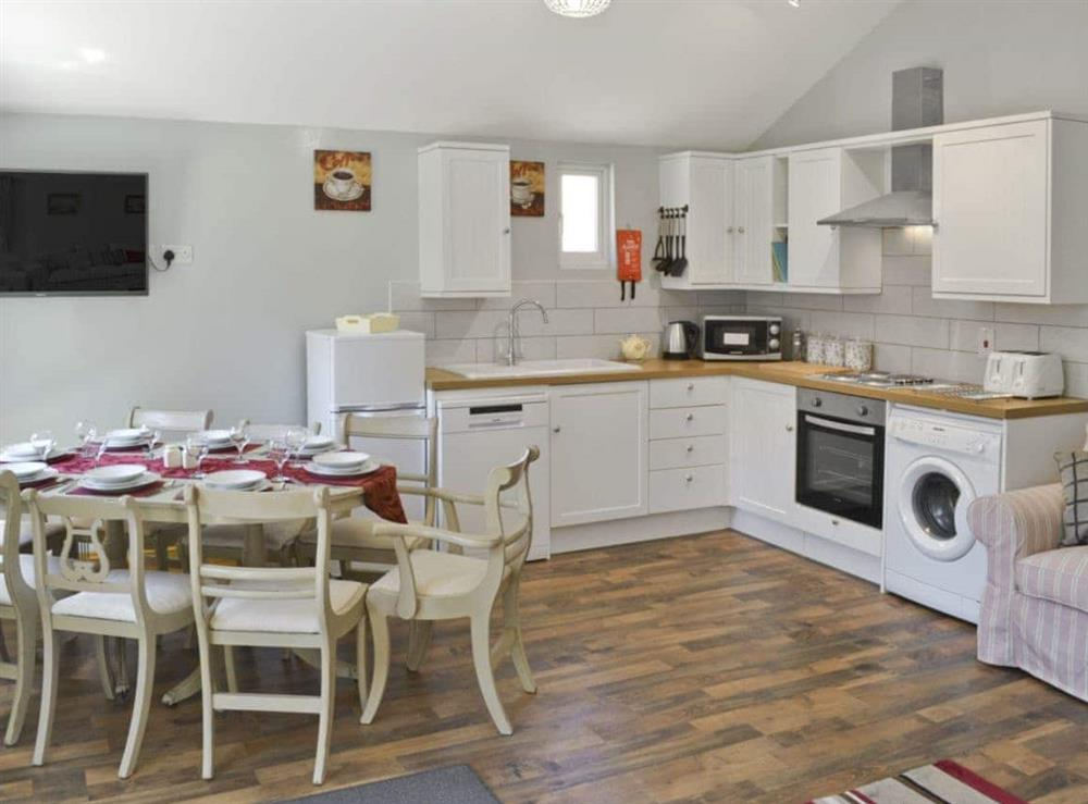 Open plan living/dining room/kitchen at The Stables,