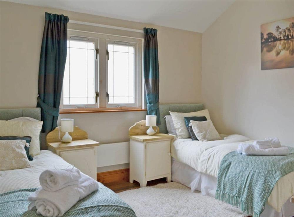 Twin bedroom at The Stables,