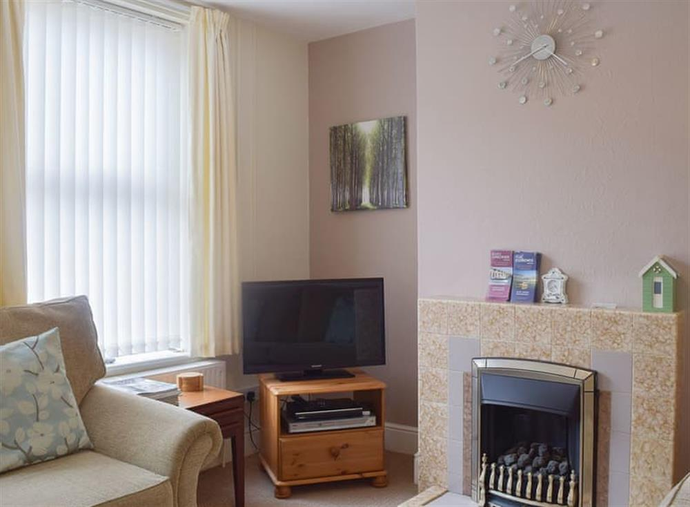 Cosy living room at Terrace Cottage in Leiston, Suffolk