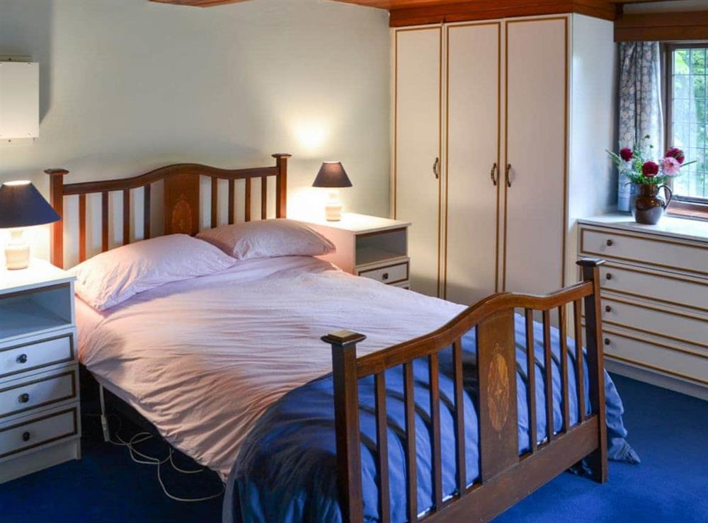 Double bedroom at Thatched Cottage in Witton, near North Walsham, Norfolk