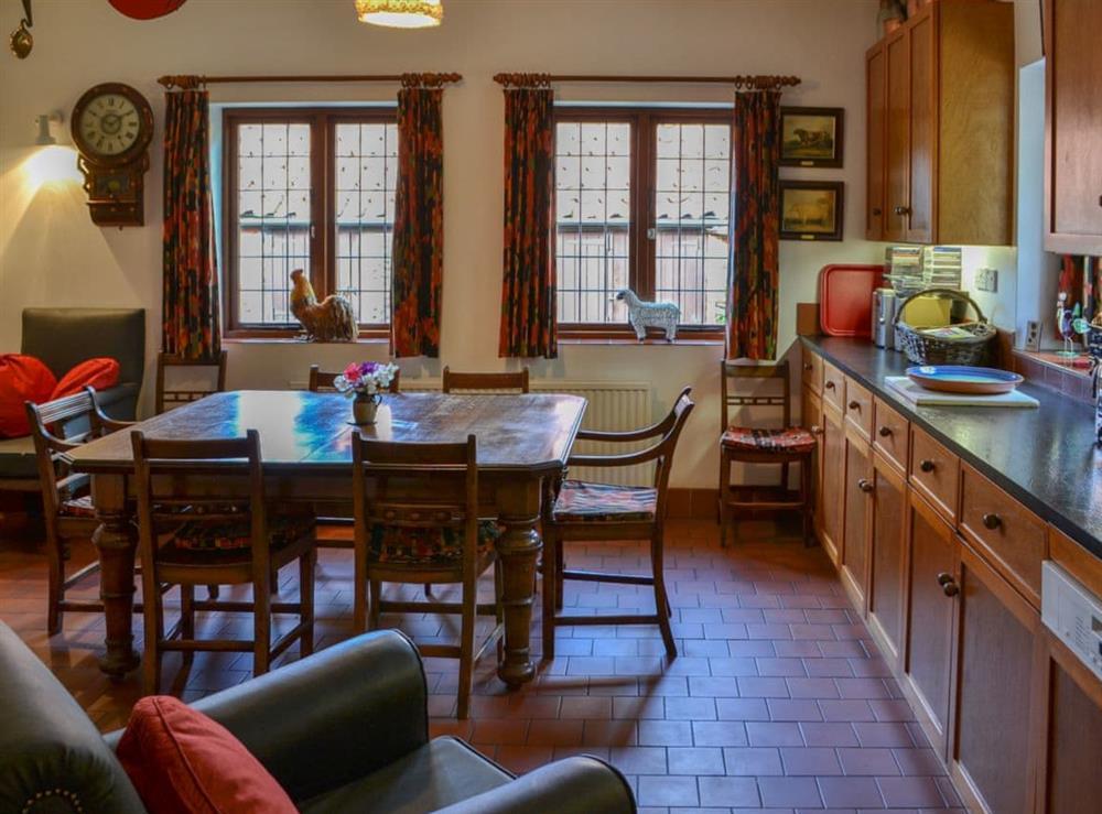 Kitchen/diner at Thatched Cottage in Witton, near North Walsham, Norfolk