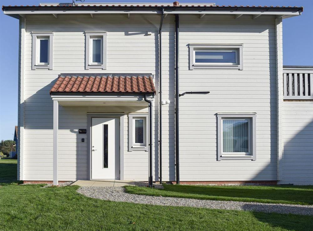 Luxurious detached Scandinavian styled property at The 19th in Fritton, near Great Yarmouth, Norfolk