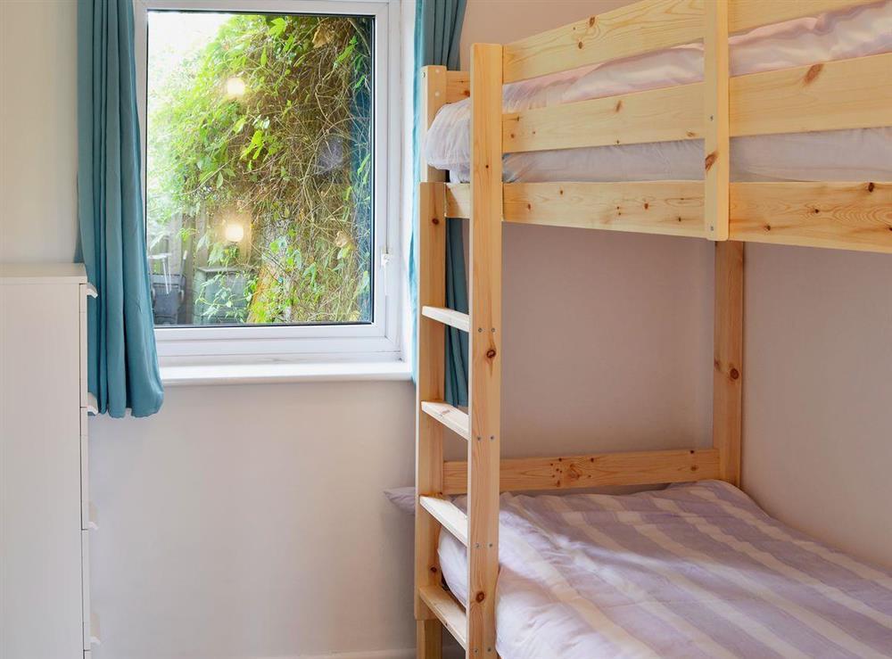 Bunk bedroom ideal for children at The Acorns in Moorside, near Sturminster Newton, Dorset