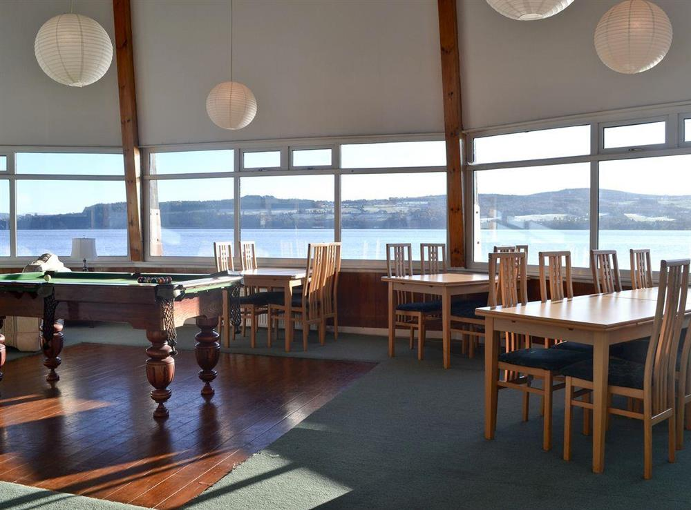 Dining area at The Anchor and Chain in North Kessock, near Inverness, Inverness-Shire