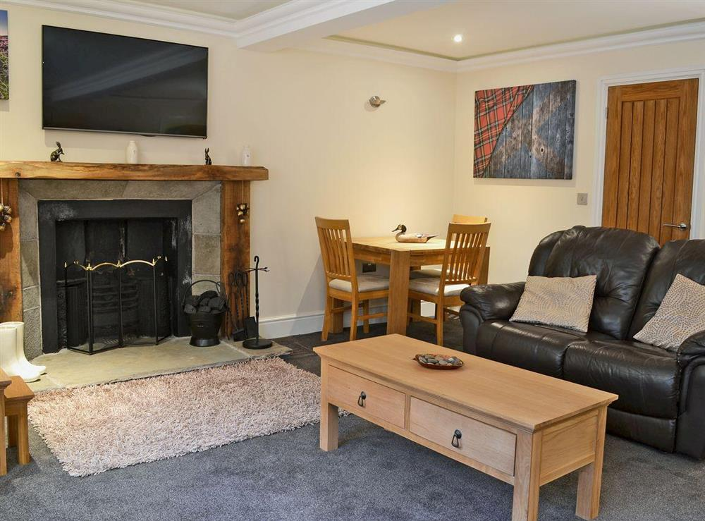 Charming living room/dining room at The Apartment in Coldstream, Berwickshire