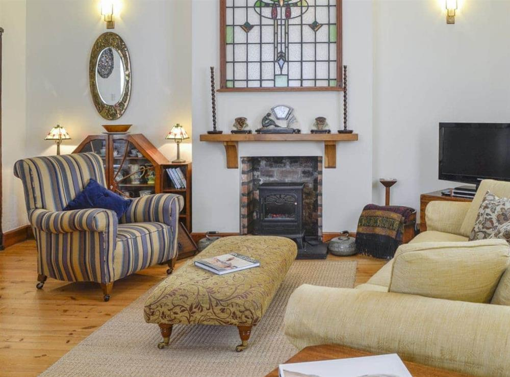 Living room at The Aul' Bank in Whitehills, Nr Banff., Banffshire