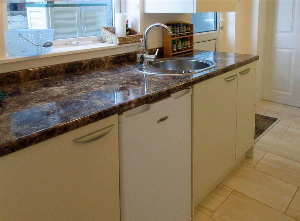 Kitchen at The Back Water in Retford, Nottinghamshire