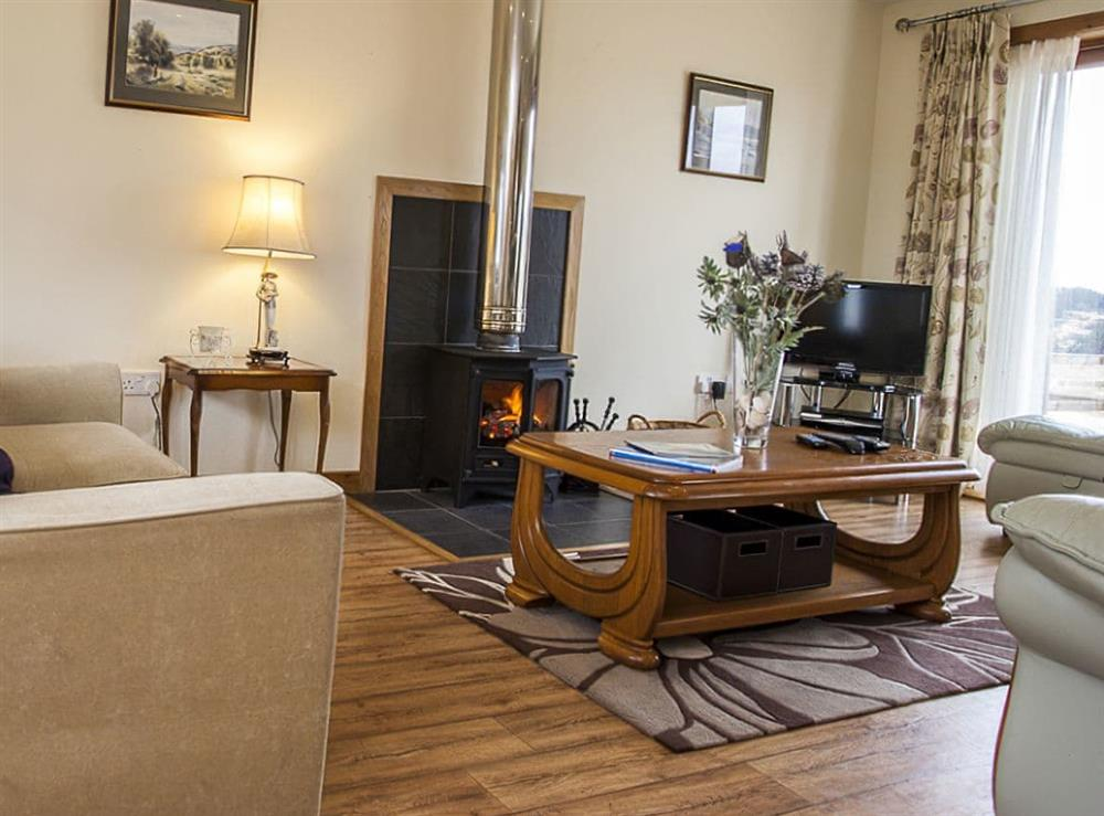 Living room (photo 3) at The Barn in Lairg, Sutherland
