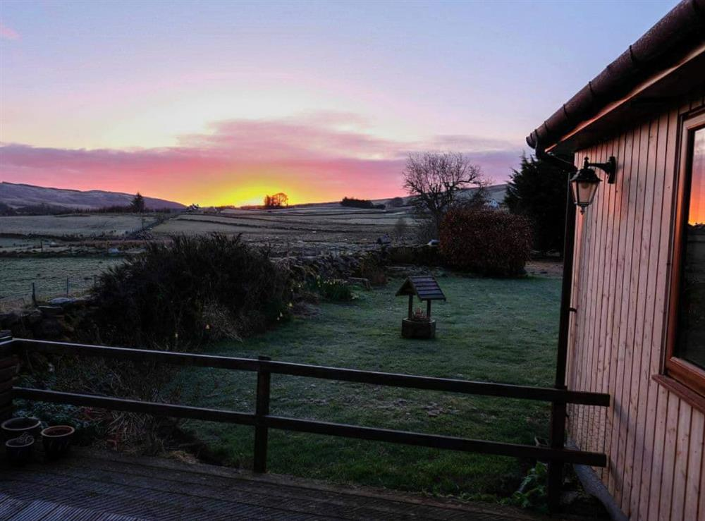 View at The Barn in Lairg, Sutherland