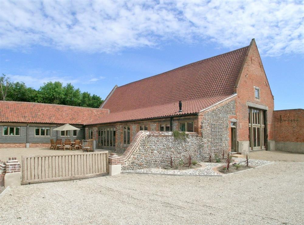 Exterior at The Barn in Ridlington, near North Walsham, Norfolk