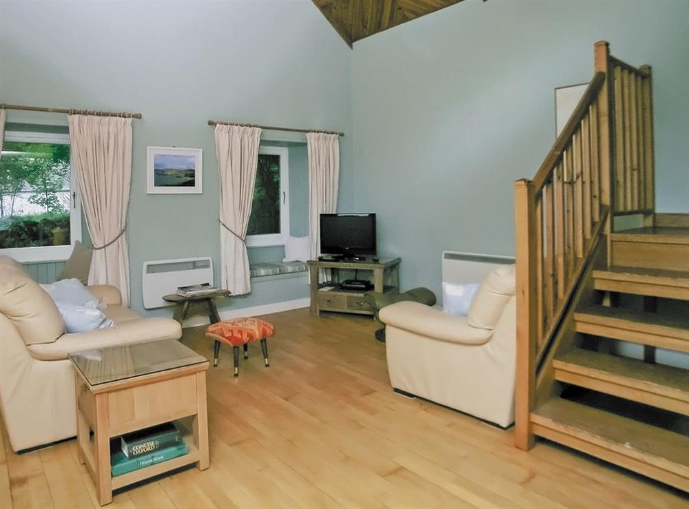 Living room at The Barn in Rockcliffe, Dumfriesshire., Kirkcudbrightshire