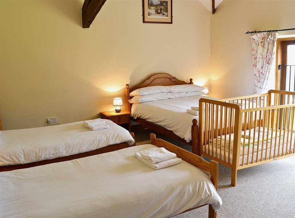 Bedroom at The Barn in Todber, near Sturminster Newton, Dorset