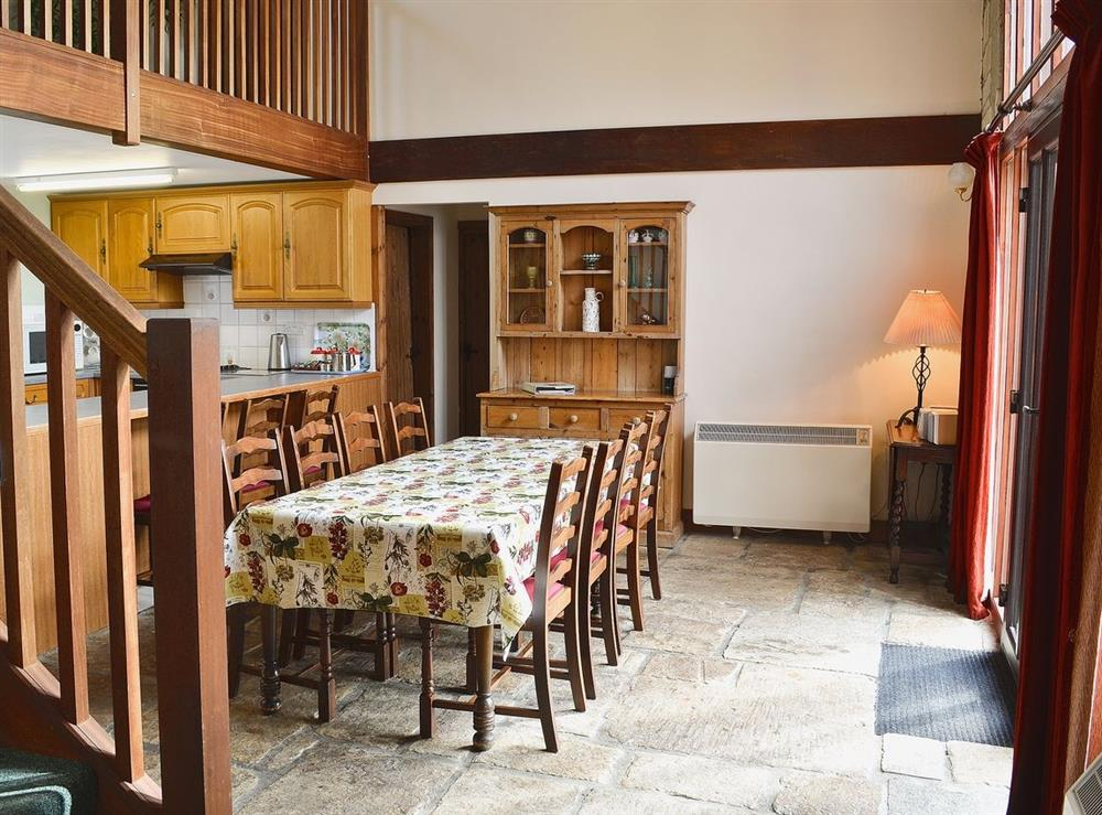 Dining Area at The Barn in Todber, near Sturminster Newton, Dorset