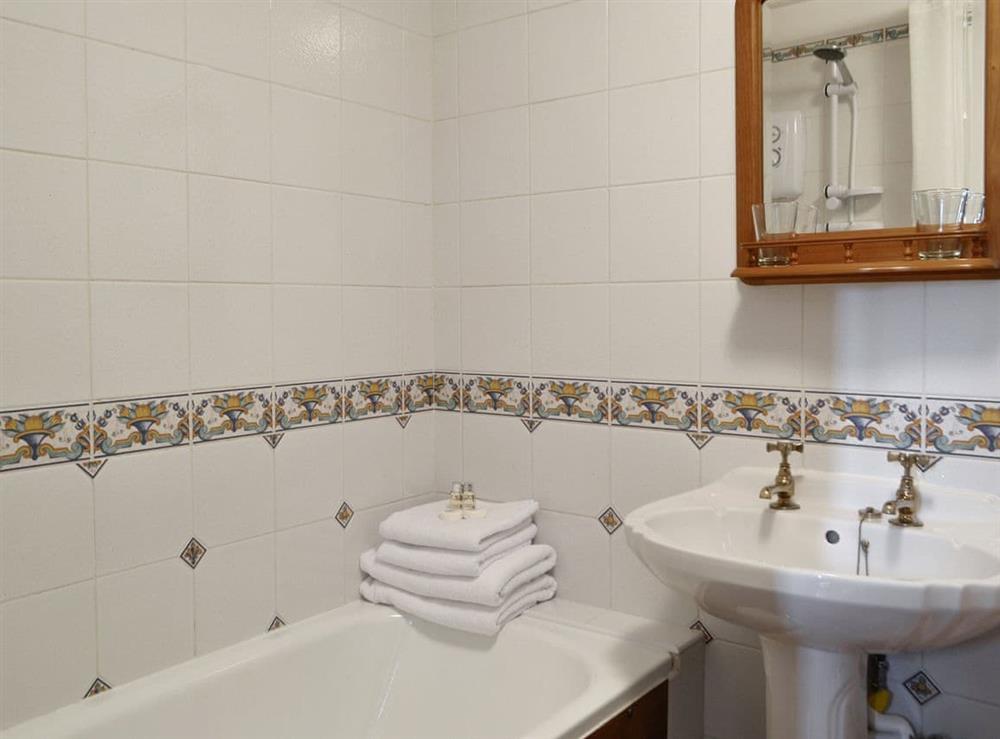 Bathroom at The Barn in Ton Kenfig, near Bridgend, Mid Glamorgan