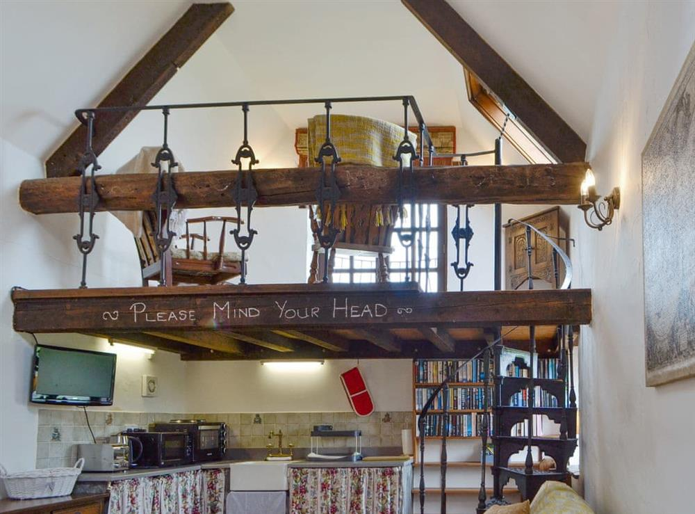 Open plan living space (photo 2) at The Barn in Ton Kenfig, near Bridgend, Mid Glamorgan
