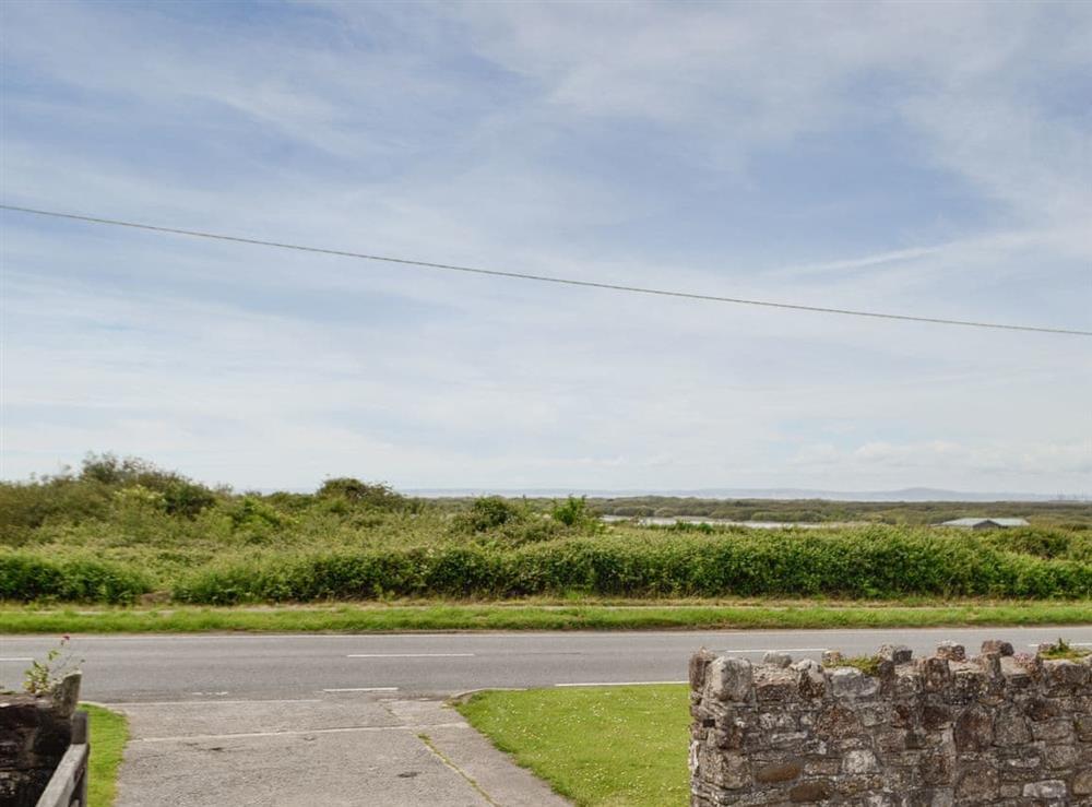 View at The Barn in Ton Kenfig, near Bridgend, Mid Glamorgan
