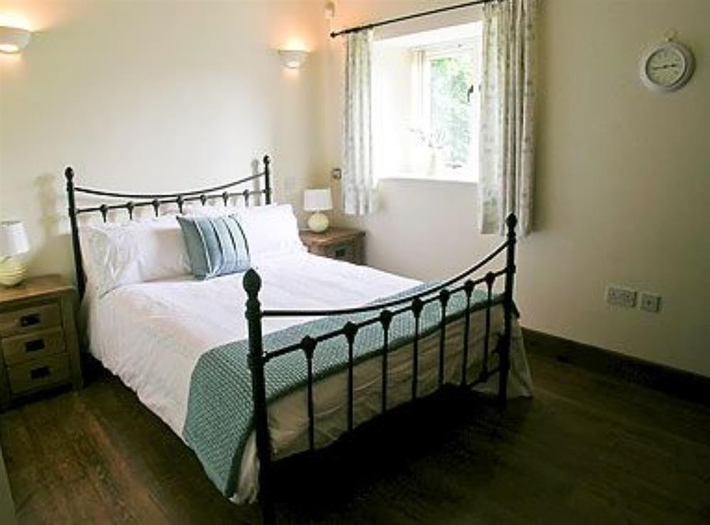 Double bedroom at The Barn in West Stour, near Shaftesbury, Dorset