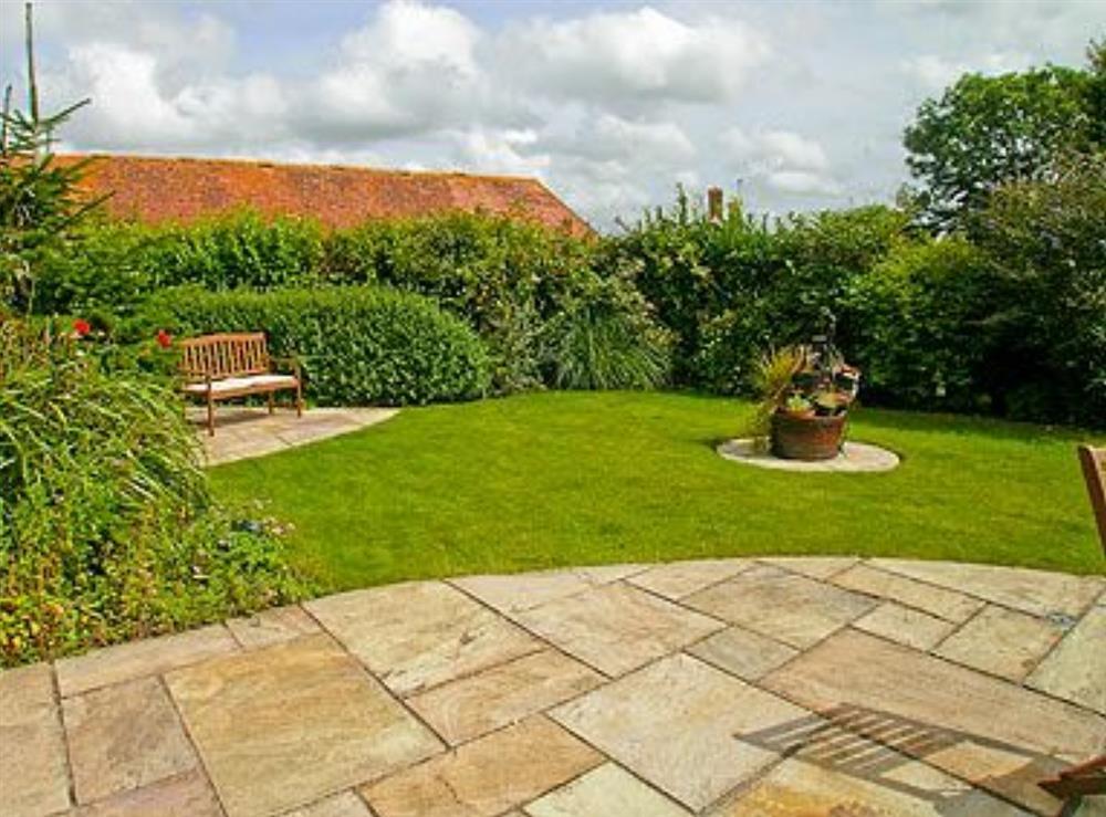 Garden at The Barn in West Stour, near Shaftesbury, Dorset