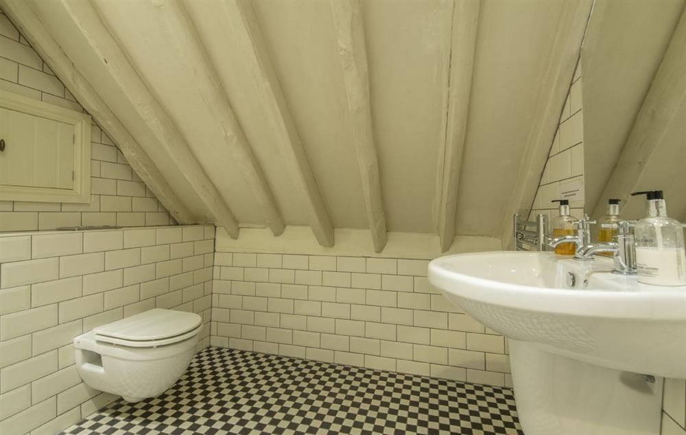The Dairy first floor: Wet room with rainfall shower