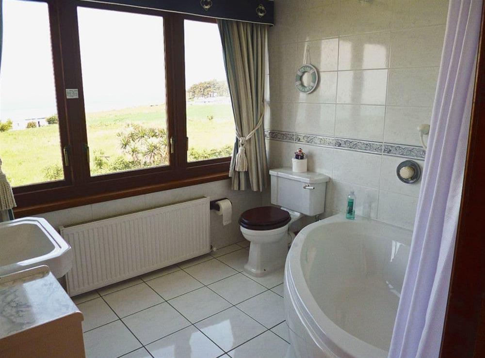 Bathroom at The Beach House in Maidens, Ayrshire