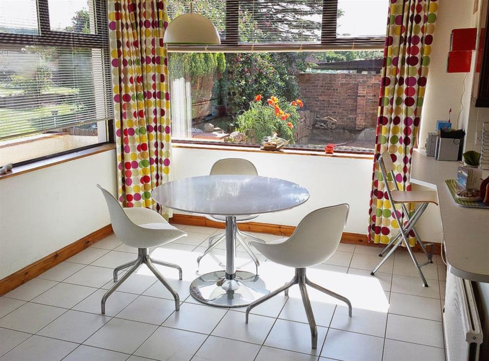 Dining Area at The Beach House in Maidens, Ayrshire