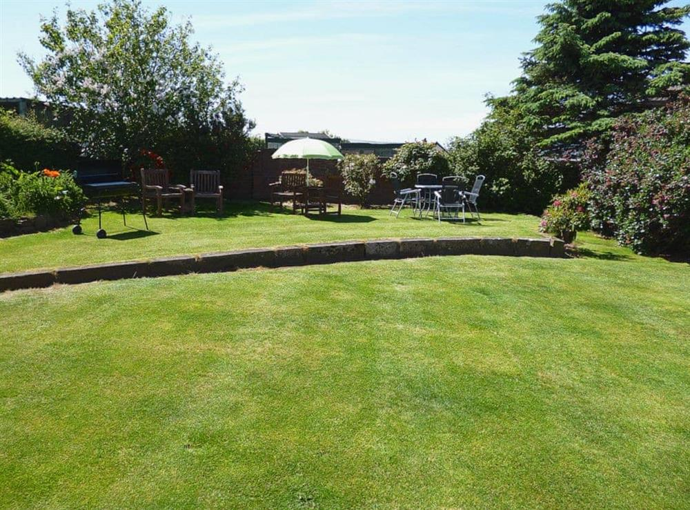 Garden at The Beach House in Maidens, Ayrshire