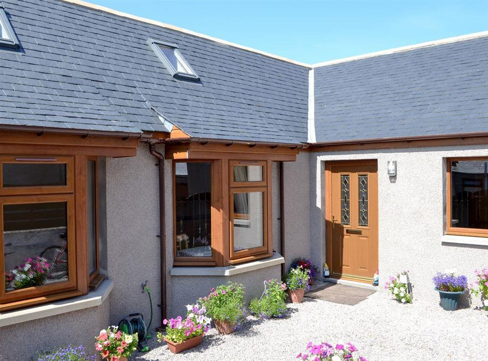 Exterior at The Beachcomber in Cairnbulg, near Fraserburgh, Aberdeenshire