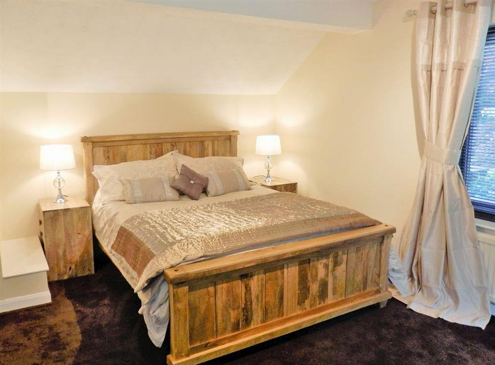 Double bedroom at The Beech House in Corton, near Lowestoft, Suffolk
