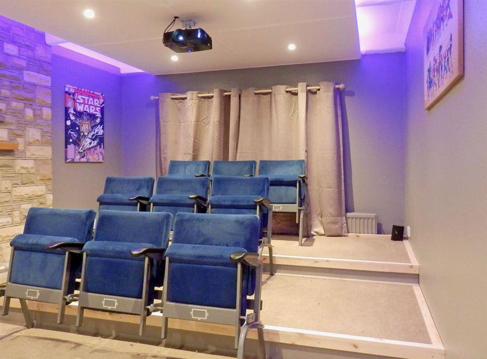 Impressive cinema room (photo 2) at The Beech House in Corton, near Lowestoft, Suffolk