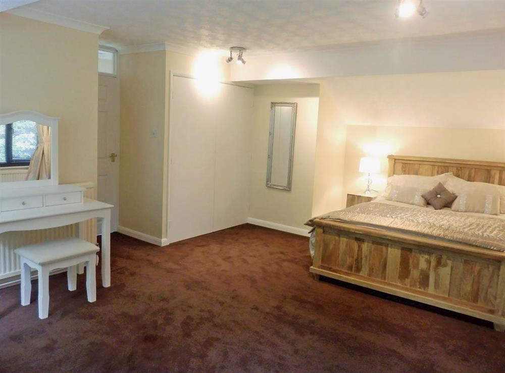 Large double bedroom at The Beech House in Corton, near Lowestoft, Suffolk