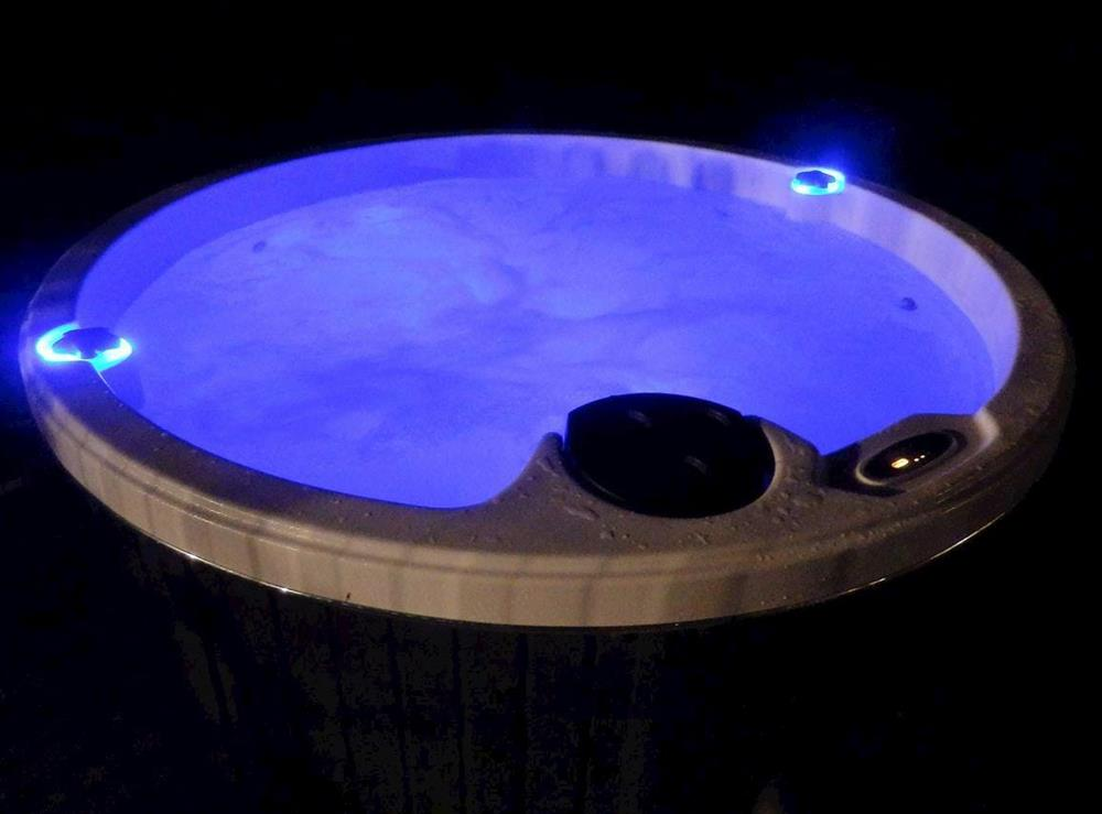 Relaxing hot tub (photo 3) at The Beech House in Corton, near Lowestoft, Suffolk